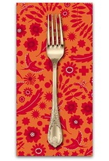 PD's Alison Glass Collection Sun Print 2017, Meadow in Spice, Dinner Napkin