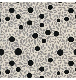 Cotton + Steel Black and White 2017, Grove in Natural, Fabric Half-Yards