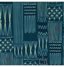 Rashida Coleman-Hale Macrame Wall Hanging in Deep Sea, Fabric Half-Yards