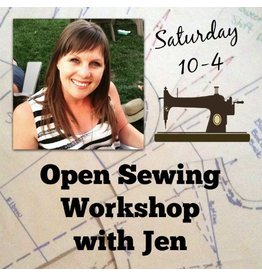 Jen Senor, Instructor 08/12: Jen's Open Sewing Workshop