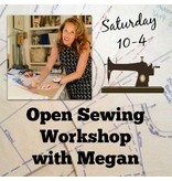 Megan Selby, Instructor 08/26: Megan's Open Sewing Workshop