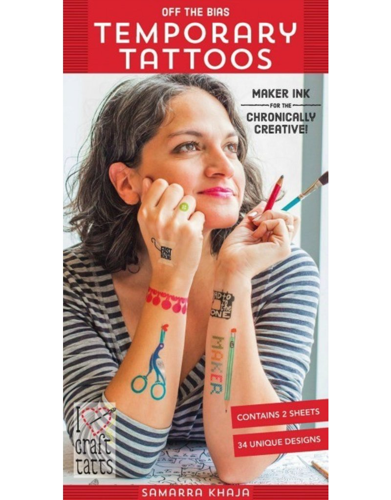 Samarra Khaja Temporary Tattoos - Off the Bias
