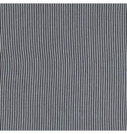 Dear Stella Sunburst Stripe, Charcoal, Fabric Half-Yards