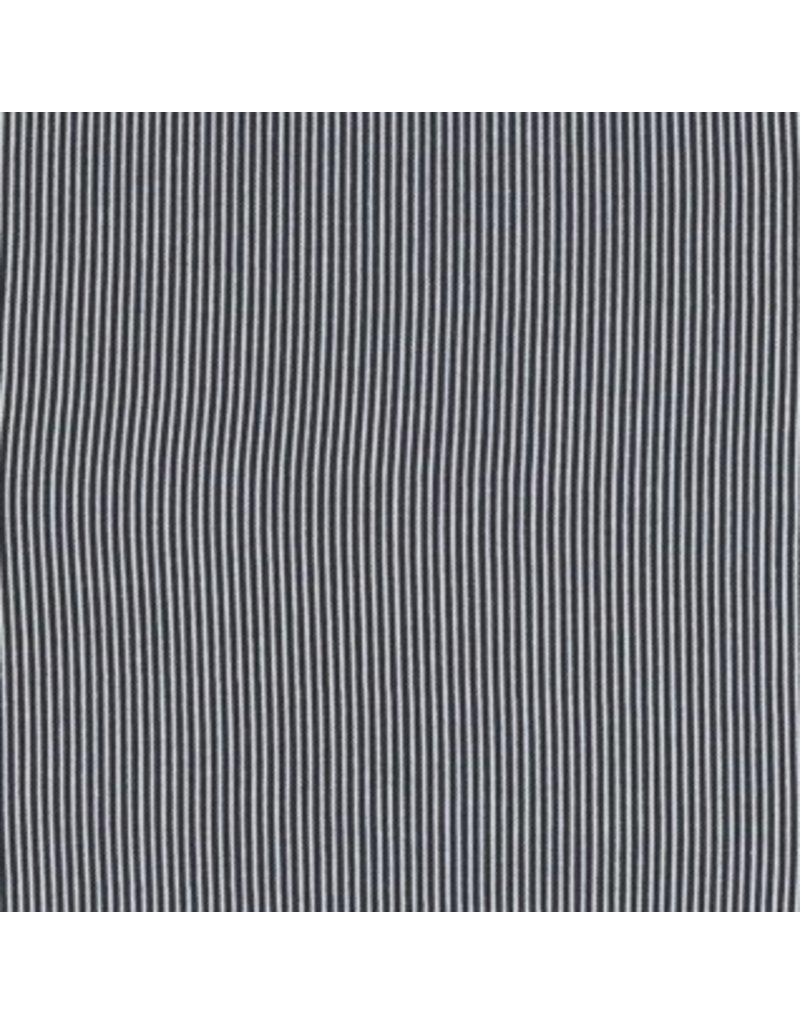 Dear Stella Sunburst Stripe, Charcoal, Fabric Half-Yards