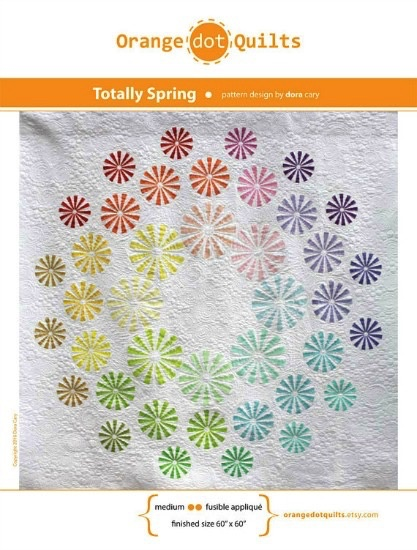 Orange Dot Quilts Orange Dot Quilt's Totally Spring Pattern