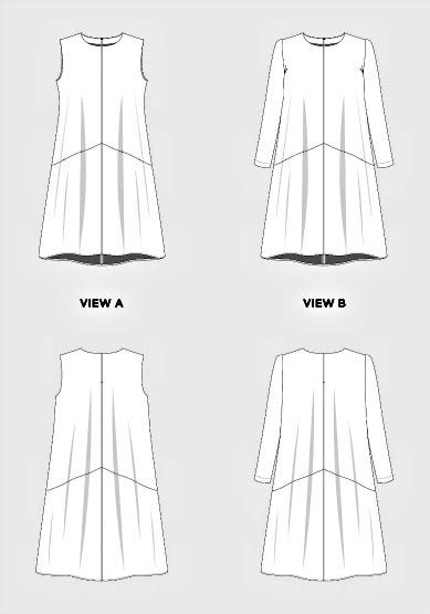 Grainline Studio Grainline's Farrow Dress Pattern