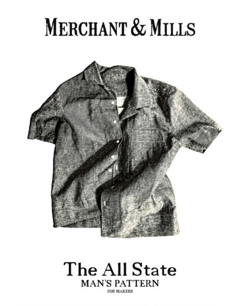 "Merchant & Mills Merchant & Mills ""The All State"" Man's Paper Pattern"
