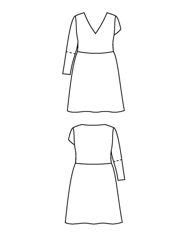 """Cashmerette Cashmerette """"Turner Dress"""" Paper Pattern"""