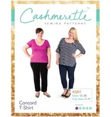 """Cashmerette Cashmerette """"Concord T-Shirt"""" Paper Pattern"""