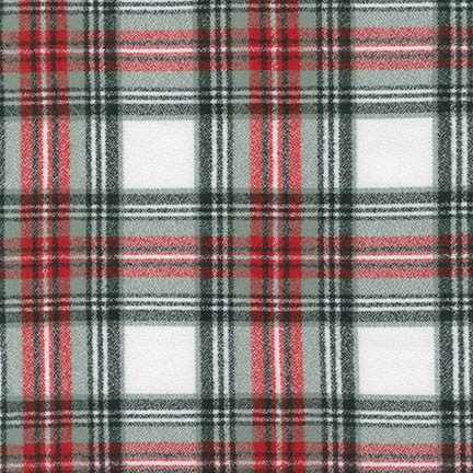 Robert Kaufman Yarn Dyed Cotton Flannel, Mammoth Flannel in Country, Fabric Half-Yards