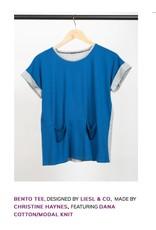 Robert Kaufman Dana Cotton - Modal Knit, Huckleberry, Fabric Half-Yards
