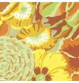 Kaffe Fassett Kaffe Collective Spring 2017, Bekah in Yellow, Fabric Half-Yards