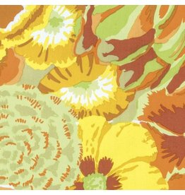 Kaffe Fassett Kaffe Collective Spring 2017, Bekah in Yellow, Fabric Half-Yards