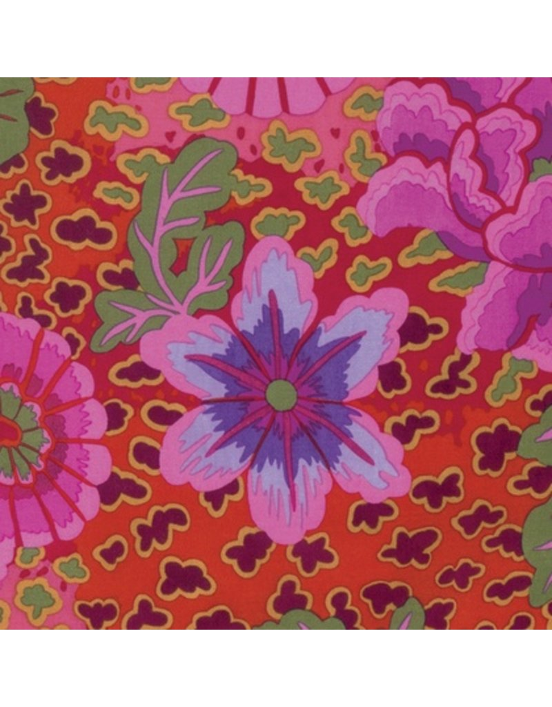 Kaffe Fassett Kaffe Collective Spring 2017, Dream in Magenta, Fabric Half-Yards