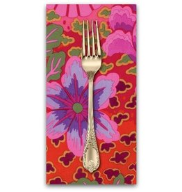 PD's Kaffe Fassett Collection Kaffe Collective Spring 2017, Dream in Magenta, Dinner Napkin