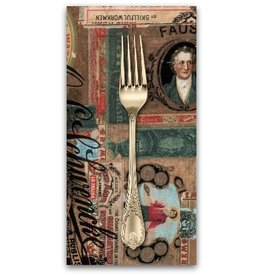 PD's Tim Holtz Collection Dapper, Cigar Box Labels in Multi, Dinner Napkin