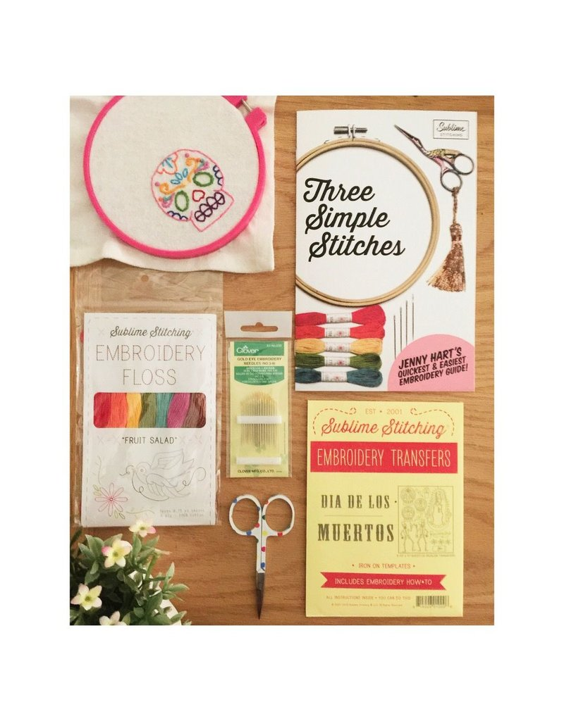 Jen Senor, Instructor 07/15: Jen's Intro to Hand Embroidery Class