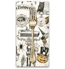 PD's Alexander Henry Collection Haunted House, Trickery in Tea Orange Sugar, Dinner Napkin