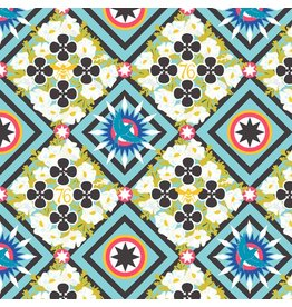 Alison Glass Seventy Six, Renewal in Liberty, Fabric Half-Yards
