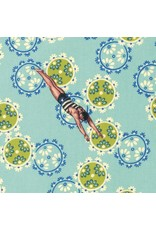 PD's TokyoMilk Collection Neptune and the Mermaid, Song of the Siren in Aqua, Dinner Napkin