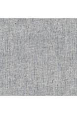 Robert Kaufman Linen Essex Yarn Dyed Homespun in Indigo, Fabric Half-Yards