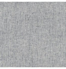 Robert Kaufman Linen Essex Yarn Dyed Homespun in Indigo, Fabric Half-Yards