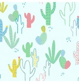 Dear Stella No Drama llama, Desert in Mist, Fabric Half-Yards