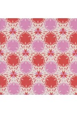 Cotton + Steel Noel, Kaleidescope in Red Christmas, Fabric Half-Yards