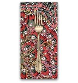 PD's Australian Aboriginal Collection Australian Aboriginal, Bush Banana, Dinner Napkin