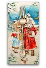 Picking Daisies Dinner Napkin Kit: Christmas, Old World Santa