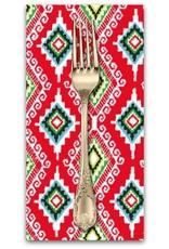 PD's Michael Miller Collection Llama Navidad, Felicia in Red, Dinner Napkin