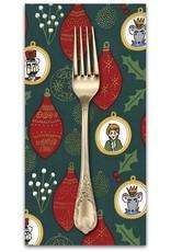 Picking Daisies Dinner Napkin Kit: Nutcracker Act I, Ornaments In Hunter
