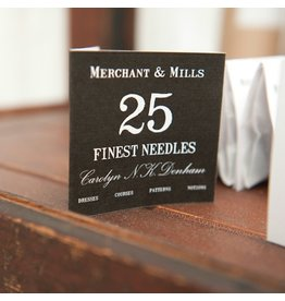 Merchant & Mills Finest Sewing Needles, 25ct.,  from Merchant & Mills, England