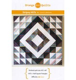 Orange Dot Quilts Orange Dot Quilt's Stripey Half Square Triangles Pattern