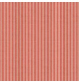 Andover Fabrics Home Grown, Triple Stripe in Red, Fabric Half-Yards