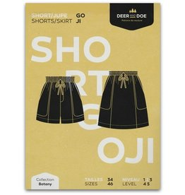 Deer and Doe Deer and Doe Goji Shorts/Skirt Pattern
