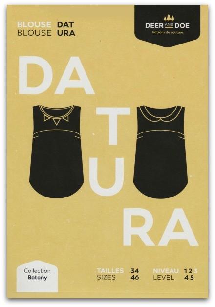Deer and Doe Deer and Doe Datura Top Pattern