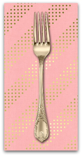 PD's Cotton + Steel Collection Dottie in Cotton Candy, Dinner Napkin