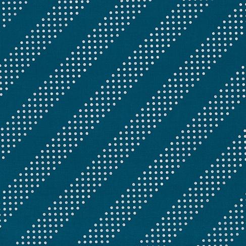 Cotton + Steel Dottie in Night Owl with Metallic, Fabric Half-Yards
