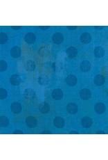 Picking Daisies Dinner Napkin Kit: Grunge Hits the Spot in Sapphire