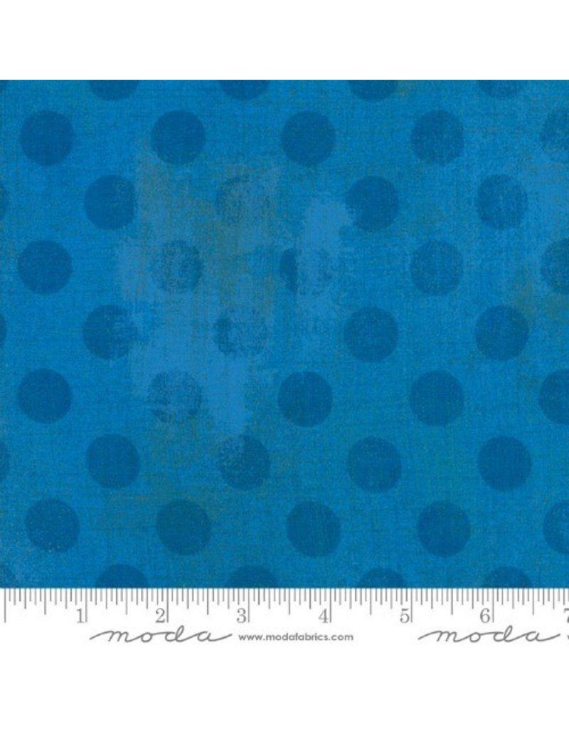 Moda Grunge Hits the Spot in Sapphire, Fabric Half-Yards
