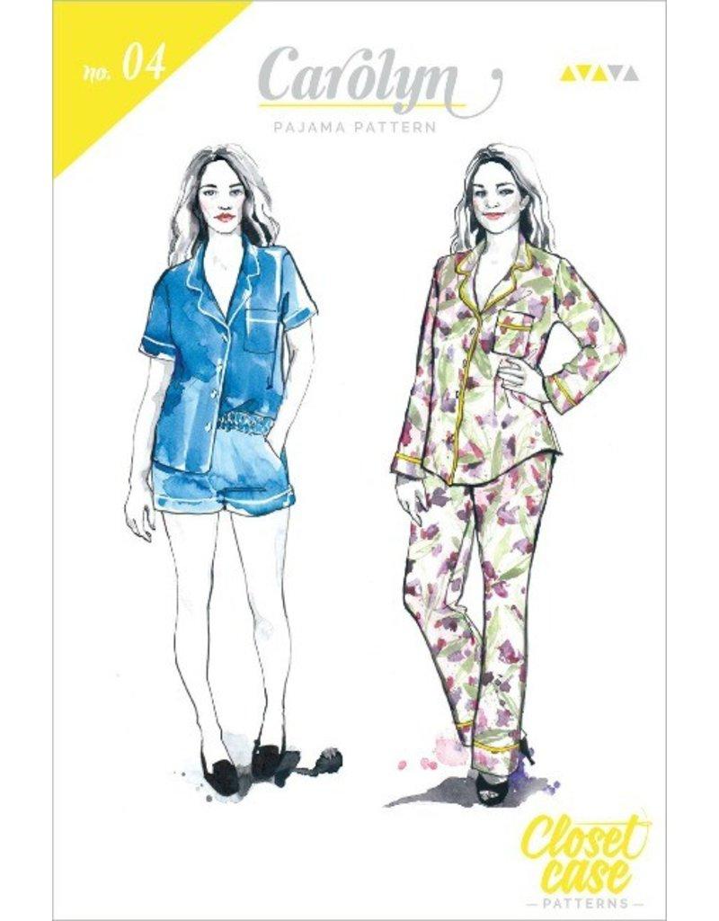 "Closet Case Patterns Closet Case ""Carolyn Pajama"" Pattern"