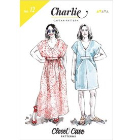 "Closet Case Patterns Closet Case ""Charlie Caftan"" Pattern"
