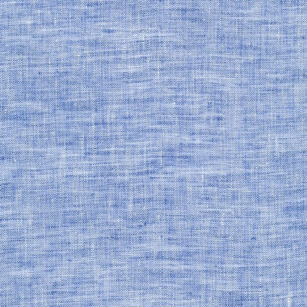 Robert Kaufman Limerick Linen in Navy, Fabric Half-Yards