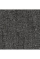 Robert Kaufman Linen Essex Yarn Dyed Homespun in Pepper, Fabric Half-Yards