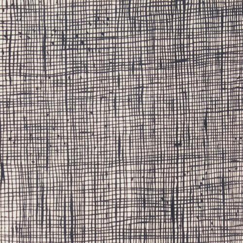 Alexander Henry Fabrics Heath in Bone and Black, Fabric Half-Yards
