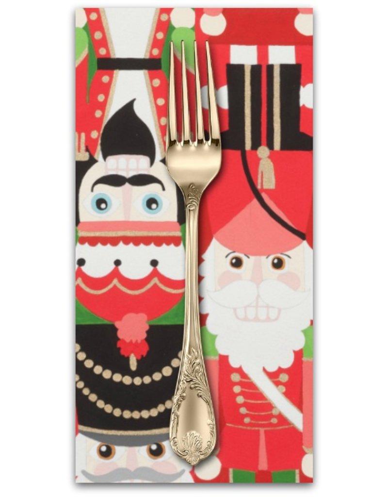 Picking Daisies Dinner Napkin Kit: Christmas Time, Nutcracker Sweet in Red