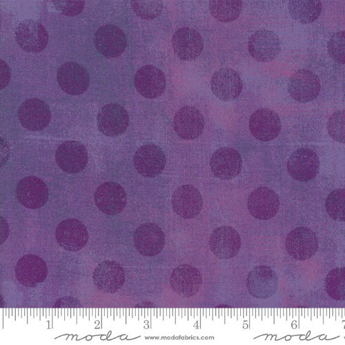 Moda Grunge Hits the Spot in Grape, Fabric Half-Yards