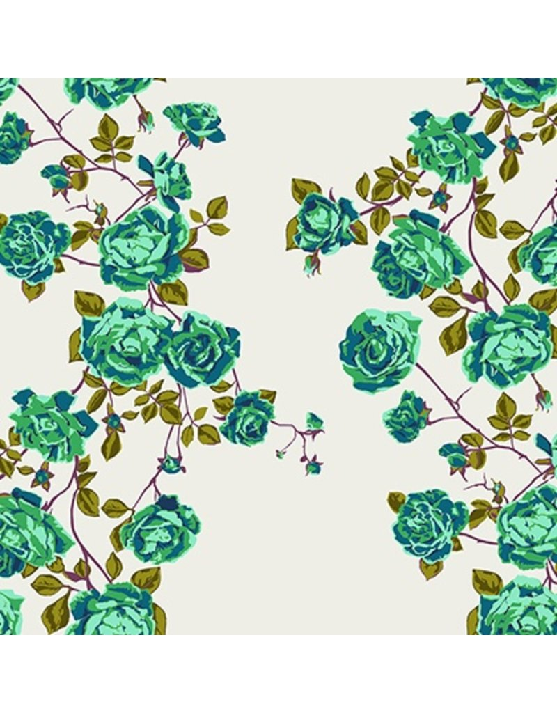 Anna Maria Horner Floral Retrospective, Social Climber in Liche, Fabric Half-Yards