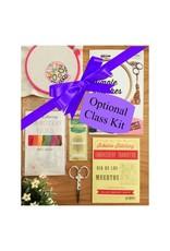 Jen Senor, Instructor 09/09: Embroidery Class Kit Fee